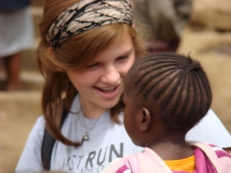 Our daughter is smitten with this beautiful girl at Kibera slum in Kenya. This summer she decided for certain that she'll be a missionary doctor in Africa.