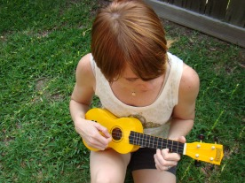 I learned to play ukulele this spring!